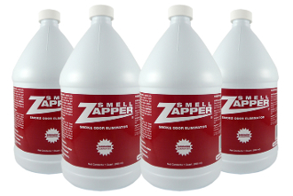 Smell Zapper Smoke Eliminator: Gallon (Case of 4)